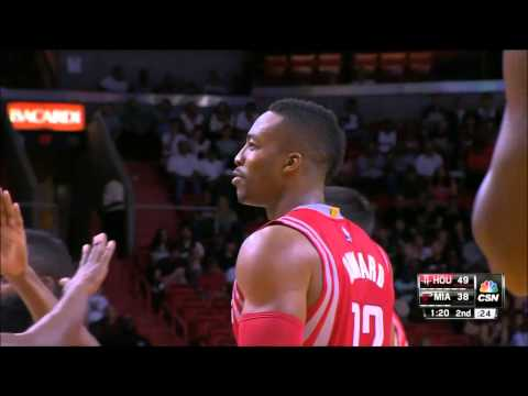 Trevor Ariza finds Dwight Howard for the slam