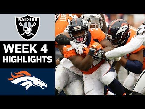 Video: Raiders vs. Broncos | NFL Week 4 Game Highlights
