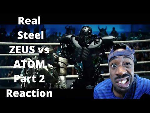 Real Steel ZEUS vs ATOM Part 2 Reaction