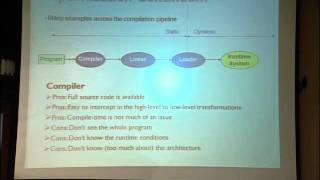 Lec 11 | MIT 6.172 Performance Engineering Of Software Systems, Fall 2010