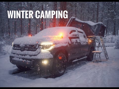 Winter Overland Car Camping in Snow - Gear Testing -  Wheeling Adventure with Friends