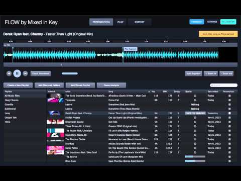 Flow DJ Software – Official video from Mixed In Key