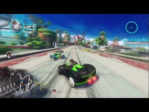 Sonic & All Stars Racing Transformed Xbox 360