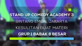 Video Stand Up Comedy Academy 3 : Bintang Emon, Jakarta - Kesulitan Buat Materi MP3, 3GP, MP4, WEBM, AVI, FLV November 2017