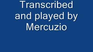 Valzer - La Signora delle Camelie (piano solo) Ennio Morricone