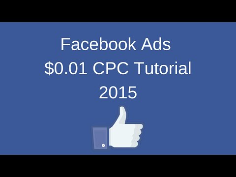 Get Facebook Advertising for as Little as ONE CENT