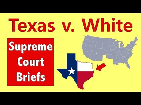Can Texas Secede From The Union? | Texas V. White