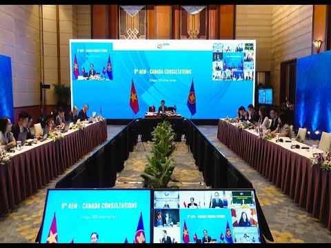 Hội nghị tham vấn Bộ trưởng Kinh tế ASEAN - Canada lần thứ 9