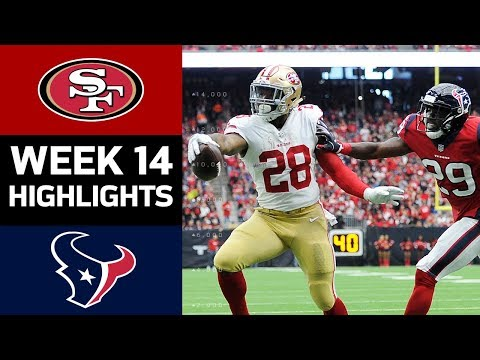 Video: 49ers vs. Texans | NFL Week 14 Game Highlights