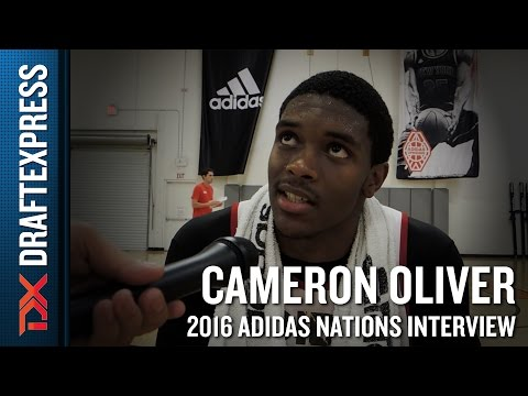 Cameron Oliver Interview from 2016 Adidas Nations