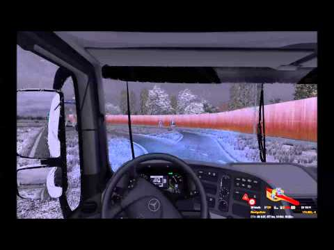 Mercedes Benz Actros realistic sound mod (ETS2) by Slash
