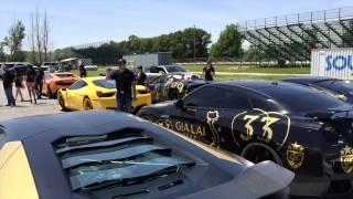 Gia Lai Team lấy siêu xe diễu hành ở nước khác, xem ra VN mình cũng VIP vãi ra :3