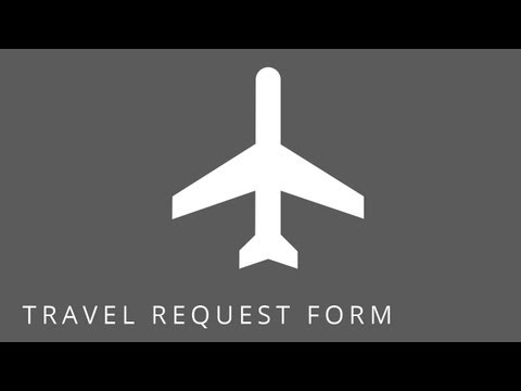 SharePoint Templates: Employee Travel Request Form