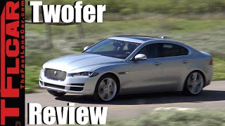 2017 Jaguar XE Twofer Review: A BMW 3 Series Fighter Comes to America? by The Fast Lane Car