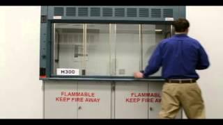6′ Fisher Hamilton Safeaire II Laboratory Fume Hood