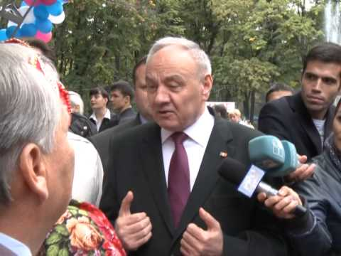 President of the Republic of Moldova Nicolae Timofti participated at the Ethnic Festival