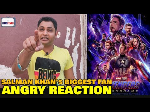 Avengers Endgame Re-Releasing | Salman Khan's Biggest Fan REACTION | Hollywood vs Indian Movies