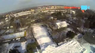 Olympijský park z ptačí perspektivy. Podívejte se, co vás čeká