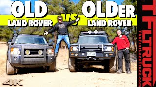 Can We Go Up the Cliffhanger in Two Old Land Rovers Without One Breaking? by The Fast Lane Truck