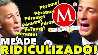 Meade SE CALIENTA y queda MAL en MILENIO ¡UN DESASTRE! - #MeadeEnMilemio