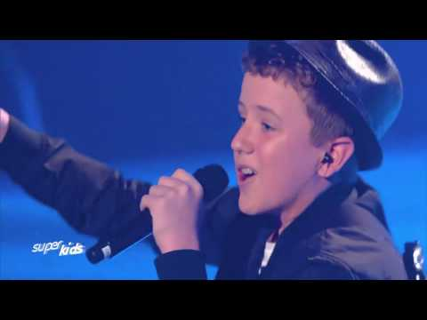 SuperKids German TV Show - Henry Gallagher (History - One Direction) (видео)