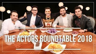 The Actors Roundtable 2018 With Rajeev Masand   Bollywood Roundtable Exclusive