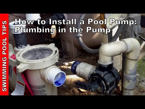 How To Install a Pool Pump - Plumbing the Pump, Part 2 of 2