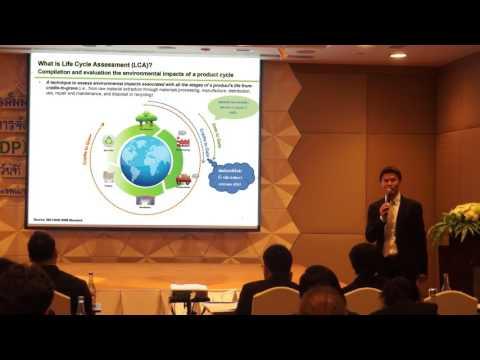 นำเสนอแนวทางการจัดทำตัวชี้วัดผลิตภัณฑ์มวลรวมสีเขียว Green GDP ภาคอุตสาหกรรม ปี 2559 Part 1