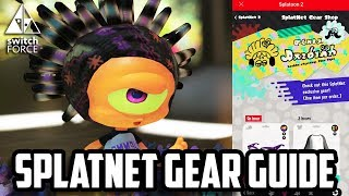 Splatoon 2 has plenty of awesome gear, but some of the COOLEST gear is only available on the Nintendo Switch Online App via SplatNet. Today we showcase how to order special gear and how to pick it up in game. Let us know what YOU think of SplatNet and Splatoon 2 in the comments below!Follow Us On Twitter: http://twitter.com/TheSwitchForceFollow Us on Instagram: http://instagram.com/SwitchForce