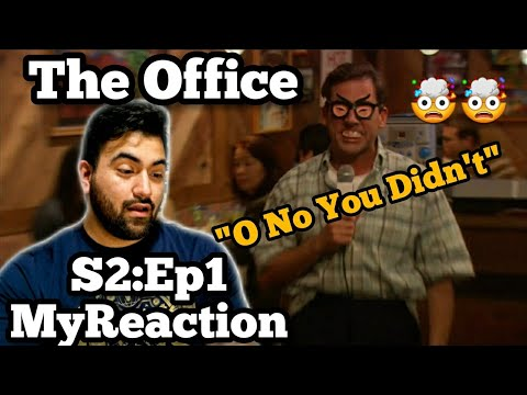 "The Office REACTION Season 2 Episode 1 ""The Dundies"""