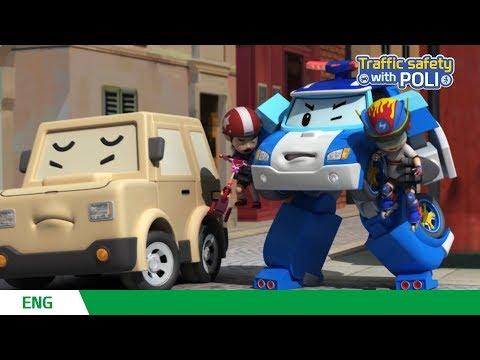 🚥Traffic safety with POLI | EP 01 - 26 | Robocar POLI | Kids animation