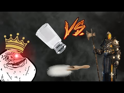 [FOR HONOR] SALTY LAWBRO RAGE QUITS - 1V1