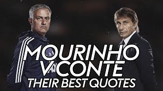 Video Mourinho vs Conte   The best quotes from their rivalry! MP3, 3GP, MP4, WEBM, AVI, FLV November 2018