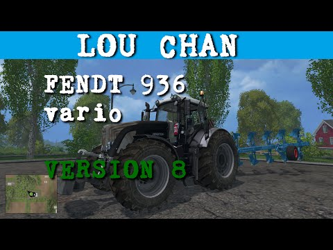 FENDT 936 VARIO BLACK FULL VERSION v2