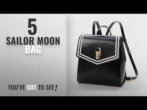 Top 10 Sailor Moon Bag [2018]: Ehdching Anime Sailor Moon Tsukino Usagi Backpack Cosplay Schoolbag