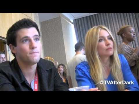 Drew Roy, Sarah Carter & Connor Jessup Interview at Comic-Con 2012 with TV After Dark