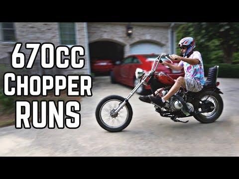 It Runs! 670cc Chopper Build Pt. 3 - Thời lượng: 14 phút.