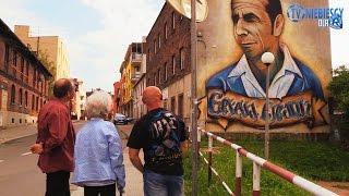 Polska legenda! Reakcja wdowy na prezentację muralu z wizerunkiem jej męża!