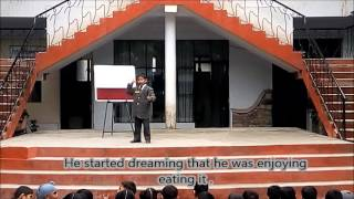 Story Telling Competition at Bajaj Institute of Learning for the Deaf, Dehradun