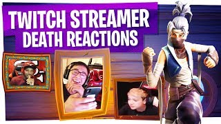 KILLING FORTNITE TWITCH STREAMERS with REACTIONS! - Fortnite Funny Rage Moments ep24