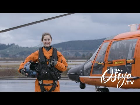 Driven to the Sky, U.S. Coast Guard Pilot Nicole Webber видео
