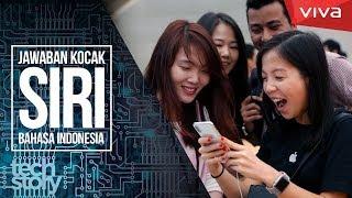 Video Jawaban Kocak SIRI iPhone Bahasa Indonesia! MP3, 3GP, MP4, WEBM, AVI, FLV Juli 2018