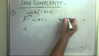TIME COMPLEXITY - Lec 2