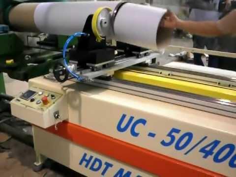 Tubeteira - Unidade de corte (eletrônica ou pneumática) acoplada na Unidade de espiralagem UCE-25/150 (velocidades 40 , 60 ou 120 mt/min ,precisão de corte +-1mm) UCP-25...