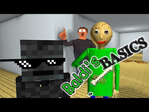 Monster School : BALDI'S BASICS CHALLENGE - Minecraft Animation (видео)