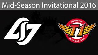 SKT T1 vs CLG, game 1