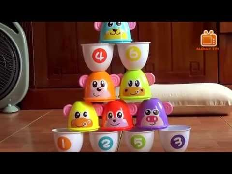 Children's Toys Piling Cup With Ball Interesting Bowling game l Đồ chơi Bowling trẻ em