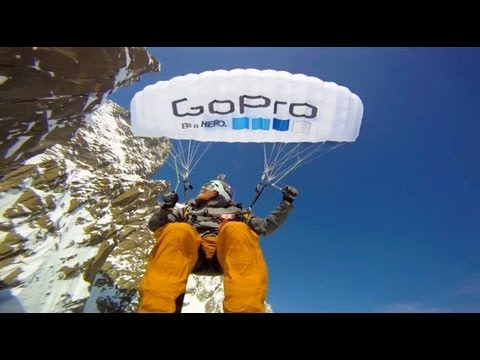 Speedflying in the French Alps