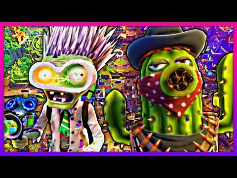 THE JOHNNY FORT - Plants vs. Zombies: Garden Warfare 2 Funny Moments (видео)