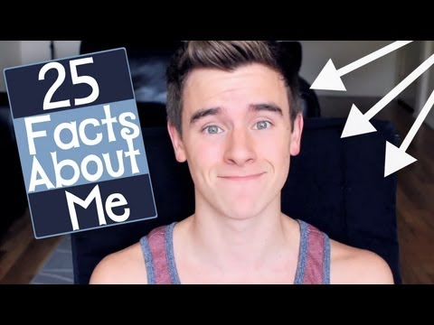 about - Here are 25 facts about me! Hope you enjoy them! -NEW Our2ndLife Merch: http://www.districtlines.com/O2L -Follow O2L on Twitter: http://www.twitter.com/Our2n...